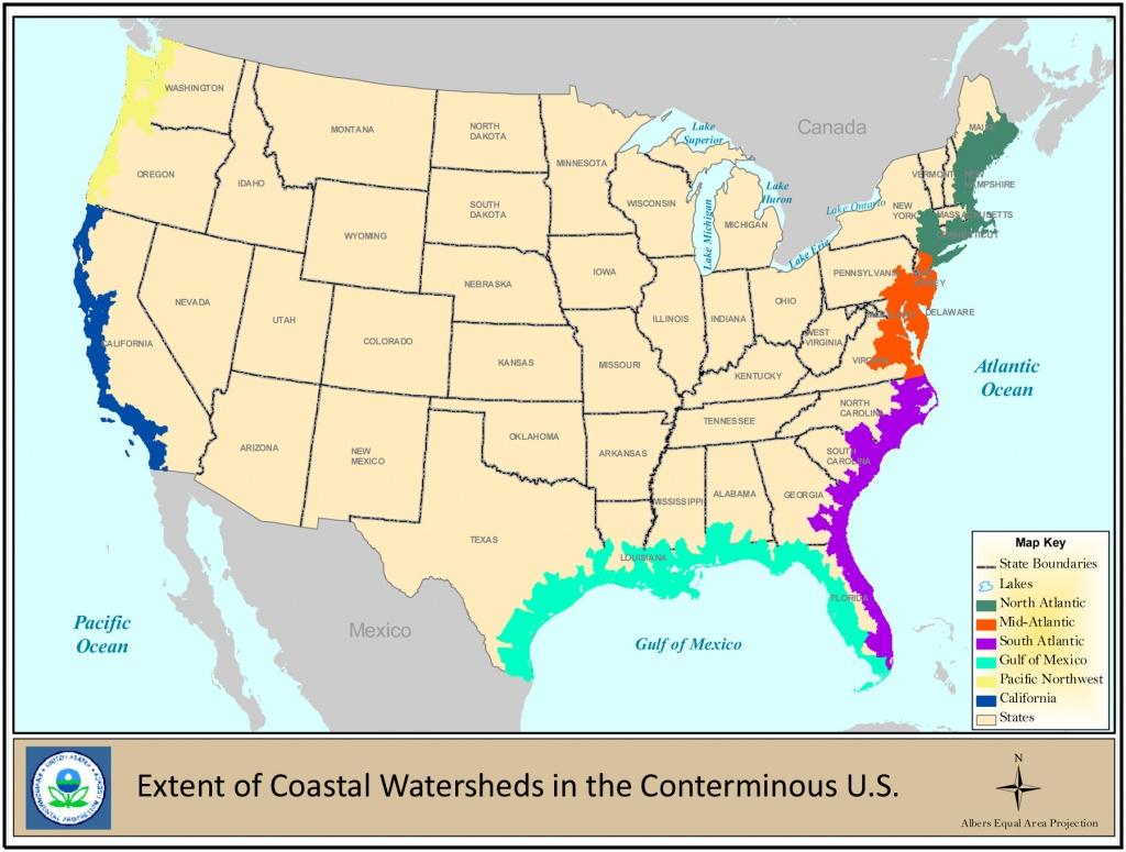 Coastal Wetlands | Wetlands Protection And Restoration | Us Epa - Florida Wetlands Map