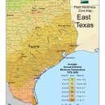 Cold Hardiness Zone Map |   Texas Planting Zones Map