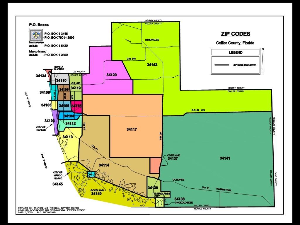 Collier County Florida Map - Collier County Florida Map