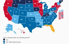Florida Concealed Carry Reciprocity Map 2018