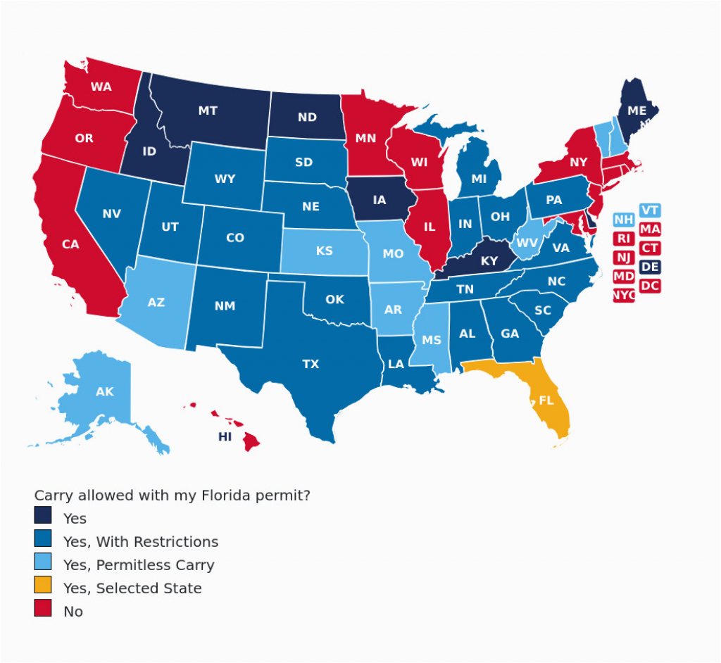 Colorado Concealed Carry Reciprocity Map Florida Concealed Carry Gun - Florida Concealed Carry Reciprocity Map
