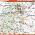 Colorado Map | Frida | Map, Colorado, State Map   Printable Map Of Colorado