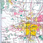 Colorado Maps   Perry Castañeda Map Collection   Ut Library Online   Denver City Map Printable