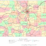 Colorado Printable Map   Printable Map Of Colorado