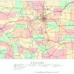 Colorado Printable Map   Printable Map Of Colorado