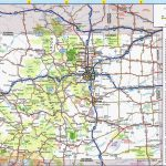Colorado Road Map Printable | Secretmuseum   Printable Map Of Colorado