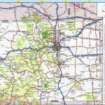 Colorado Road Map Printable | Secretmuseum   Printable Map Of Colorado