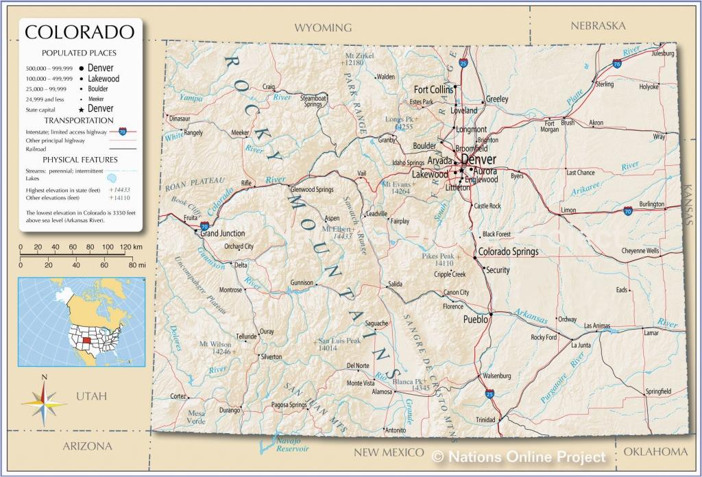 Colorado Rv Parks Map | Secretmuseum - Rv Parks California Map