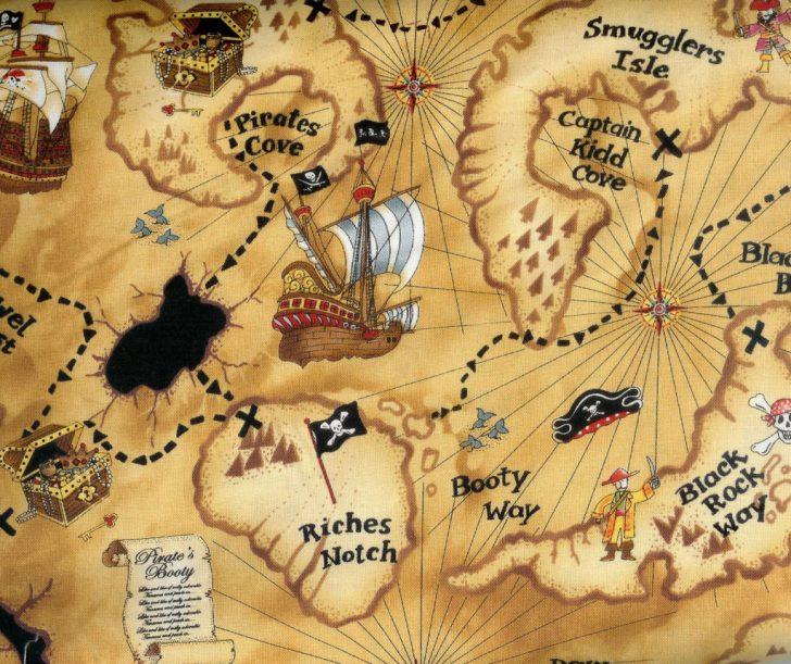 Free Printable Treasure Map