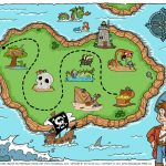 Coloring ~ Printable Treasure Map Maps For Kids Parties Microsoft   Printable Kids Pirate Treasure Map