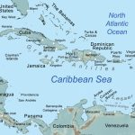 Comprehensive Map Of The Caribbean Sea And Islands   Map Of Florida And Bahamas