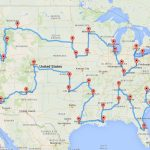 Computing The Optimal Road Trip Across The U.s. | Dr. Randal S. Olson   Florida Road Trip Trip Planner Map