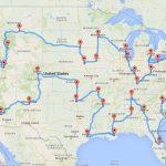 Computing The Optimal Road Trip Across The U.s. | Dr. Randal S. Olson   Florida Road Trip Trip Planner Map