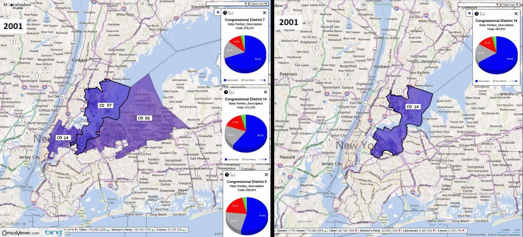 Congressional Districts In New York After The 2010 Census - Texas 14Th Congressional District Map