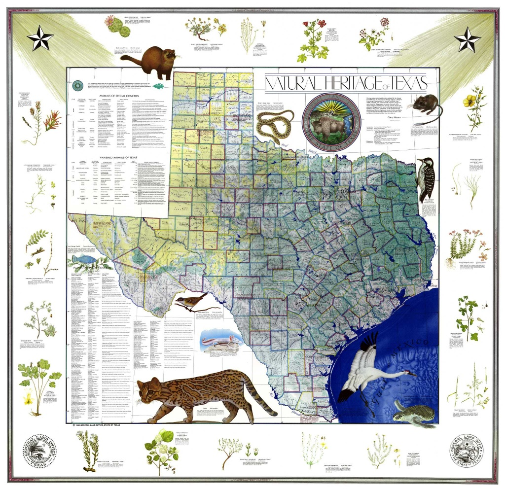 Conserving History With Map Sales - Expressnews - Texas General Land Office Maps