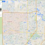 Coral Springs, Florida Map   Coral Springs Florida Map