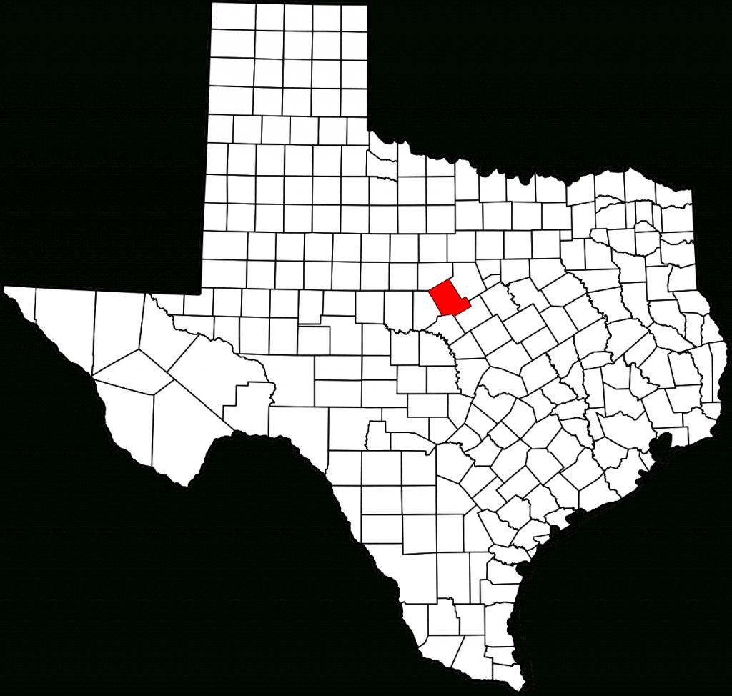 County Comanche, Texas - Wikipedia Bahasa Indonesia, Ensiklopedia Bebas - Comanche County Texas Map