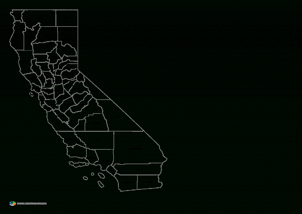 County Map Of California And Travel Information   Download Free - Free Editable Map Of California Counties