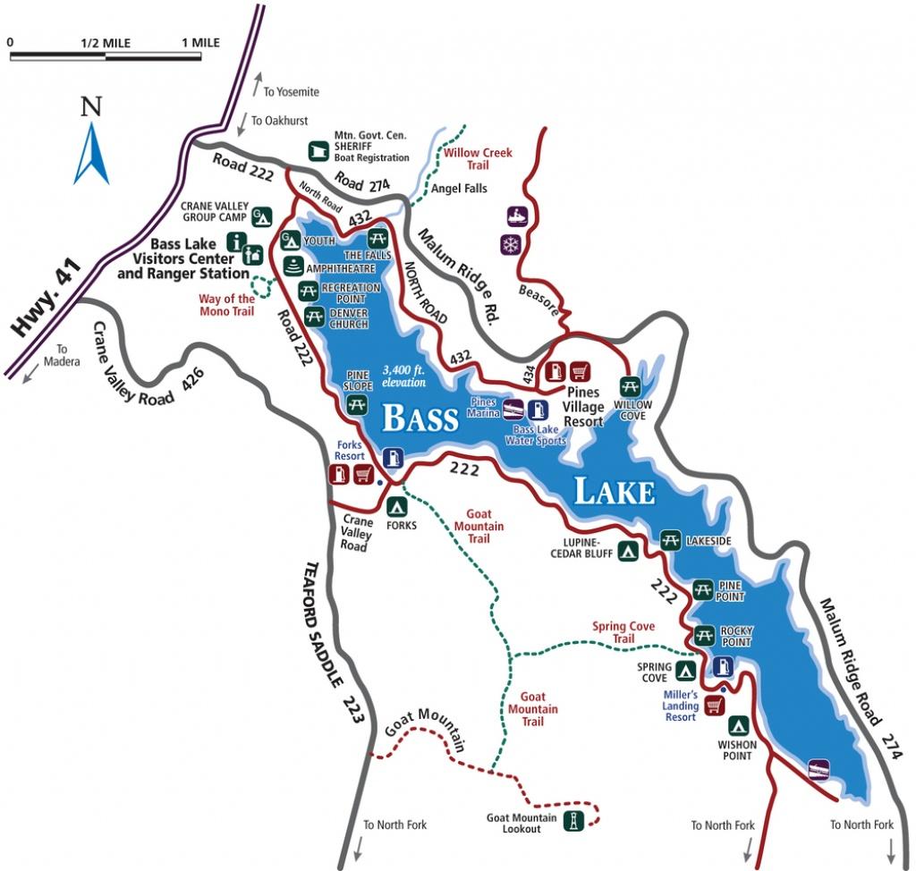 Course Maps — Swim. Bike. Run. - Bass Lake California Map