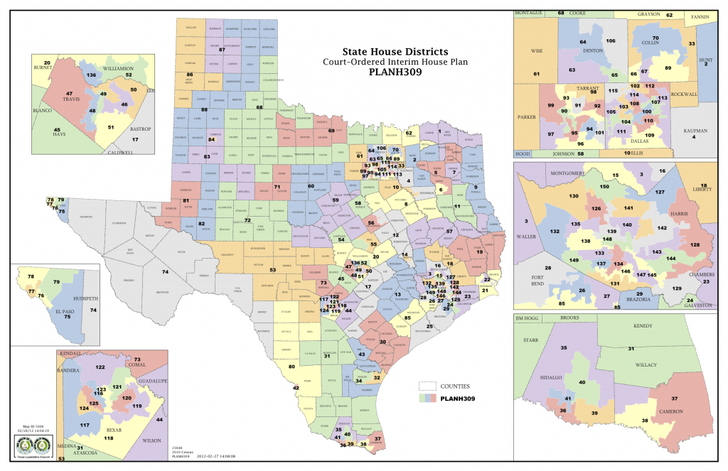 Court Delivers Election Maps For Texas House, Congress | The Texas - Texas Us Senate District Map