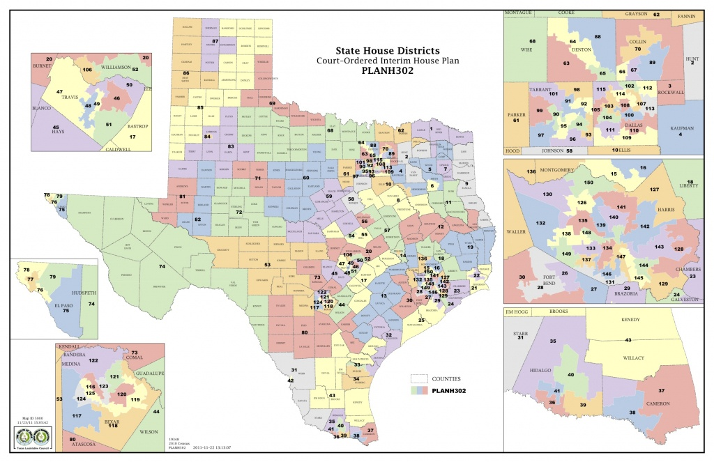 Court Increases Minority Districts In Texas Legislature | The Texas - Texas Us Representative District Map