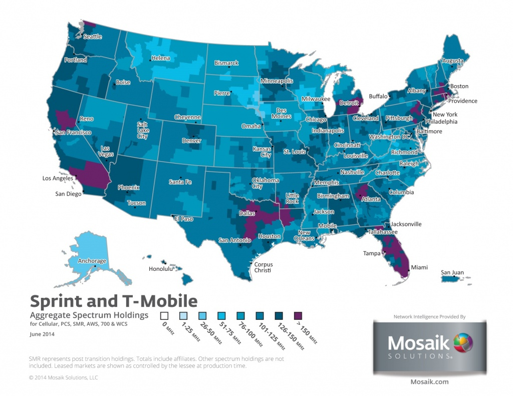 Coverage Maps For All Prepaid Carriers | Prepaid Phone News - Metropcs Coverage Map Florida