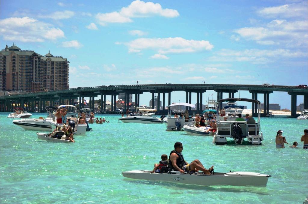 Crab Island Destin Florida - Things To Do - Crab Island Destin Florida Map