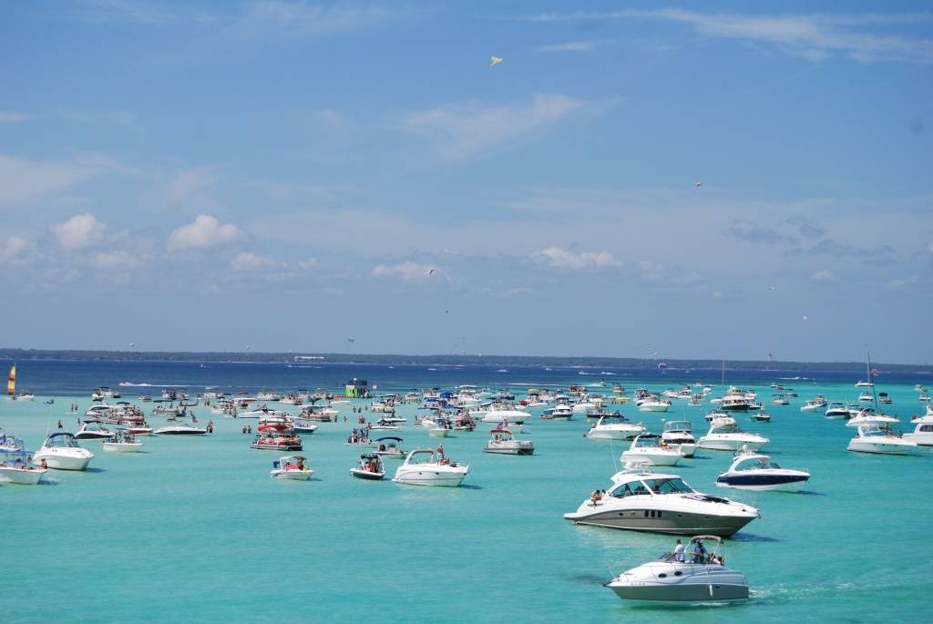 Crab Island In Destin Florida: The Complete Visitors Guide - Map Of Destin Florida Attractions