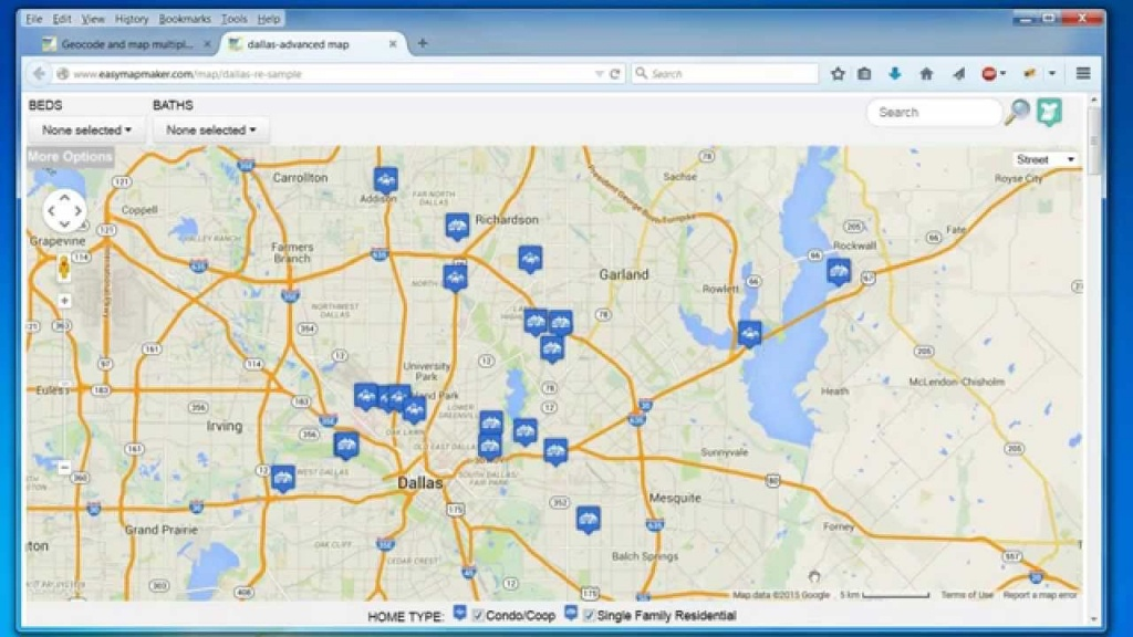 Create A Map: Easily Map Multiple Locations From Excel Data - Free Printable Custom Maps