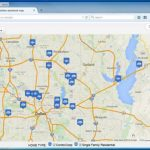 Create A Map: Easily Map Multiple Locations From Excel Data   How To Create A Printable Map