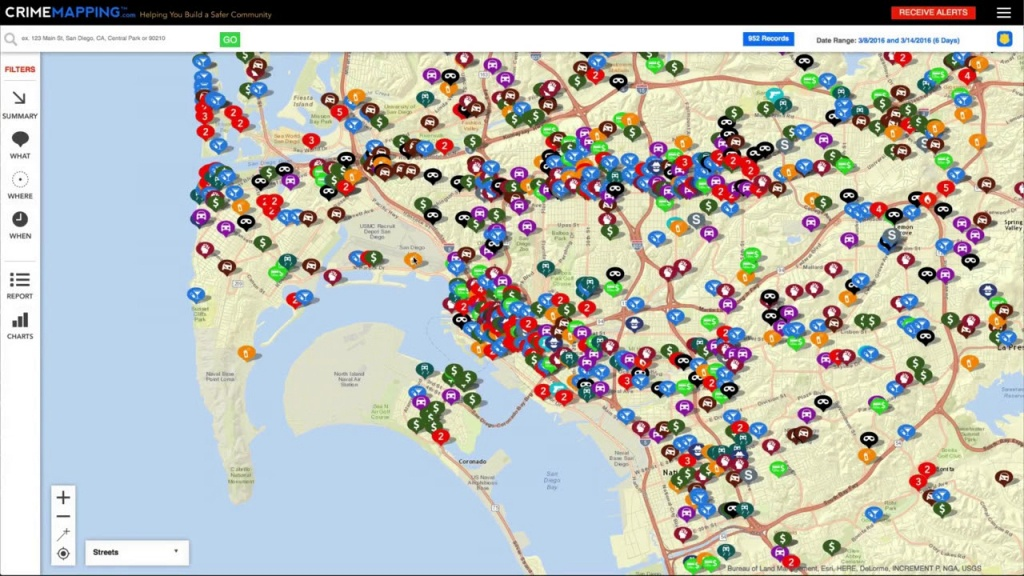 Crimemapping - Helping You Build A Safer Community - Texas Crime Map