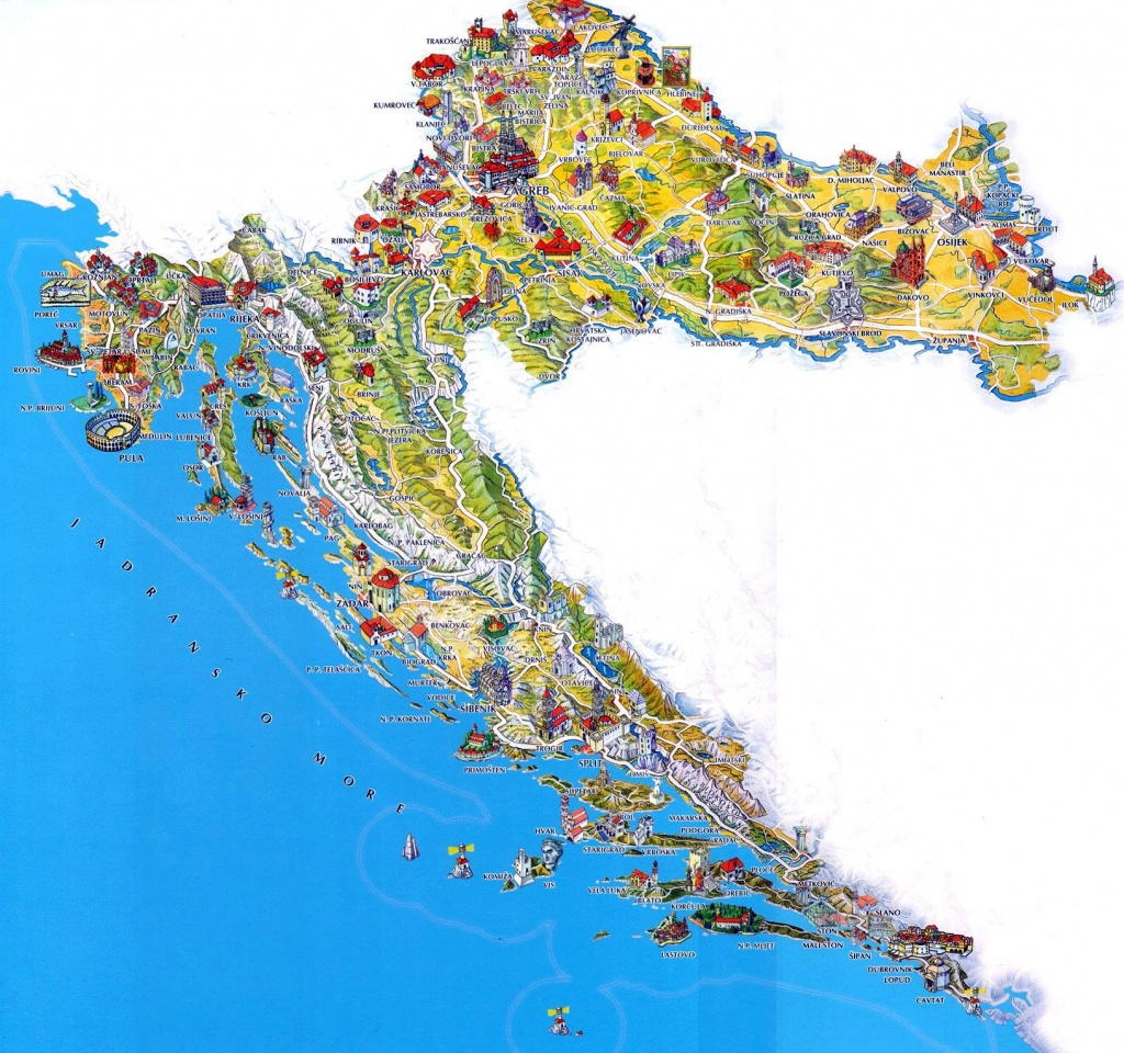 Croatia Maps | Printable Maps Of Croatia For Download - Printable Map Of Croatia