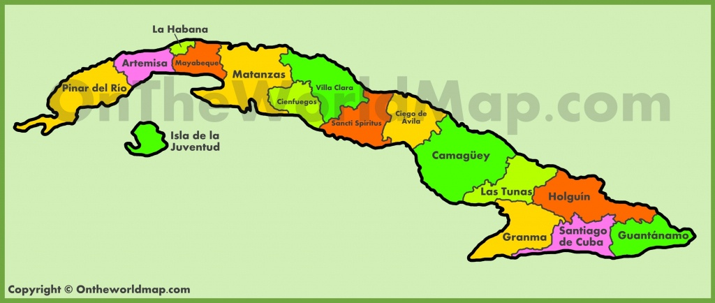 Cuba Maps | Maps Of Cuba - Printable Map Of Cuba