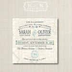 Custom Map Printable Wedding Invitation 5X5Kandkcreative, $20.00   Printable Maps For Wedding Invitations Free