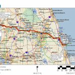 Cycling Routes Crossing Florida   Central Florida Bike Trails Map