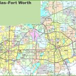 Dallas And Fort Worth Map   Printable Map Of Dallas