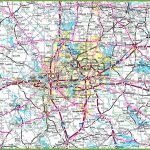 Dallas Area Road Map   Printable Map Of Dallas