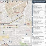 Dallas Hotels And Tourist Attractions Map   Printable Map Of Dallas