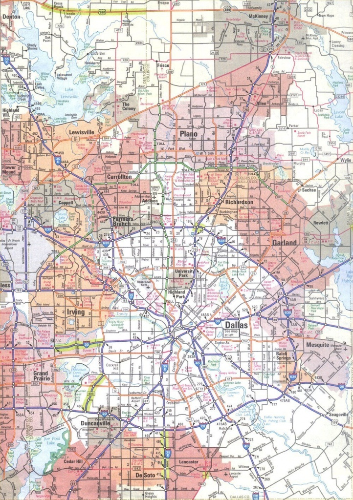 Dallas Map ~ Usa Map Guide 2016 - Dallas Texas Highway Map