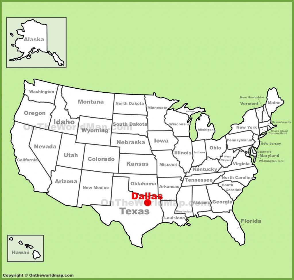 Dallas Maps   Texas, U.s.   Maps Of Dallas - Dallas Map Of Texas