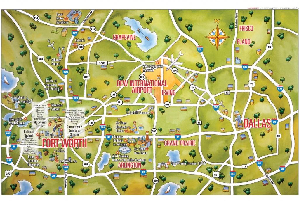Dallas Maps | Texas, U.s. | Maps Of Dallas - Map Of Downtown Dallas Texas