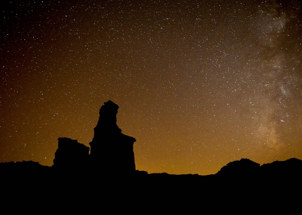Dark Skies Program - Tpwd - Texas Night Sky Map