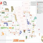 Dark Zone And Pve Boss Maps (Updated)The Division Dark Zone   The Division Printable Map