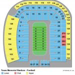 Darrell K Royal Texas Memorial Stadium   Maplets   Texas Longhorn Stadium Seating Map
