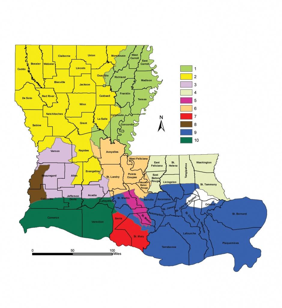 Deer Hunting Seasons | Louisiana Hunting Seasons & Regulations - Texas Hunting Zones Map