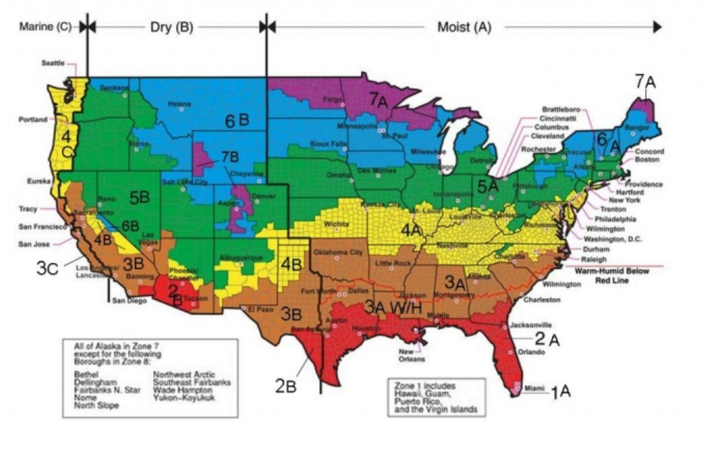 Definitions Heating, Cooling & Insulation Terms: Btu, Calorie, R U& - Florida Building Code Climate Zone Map