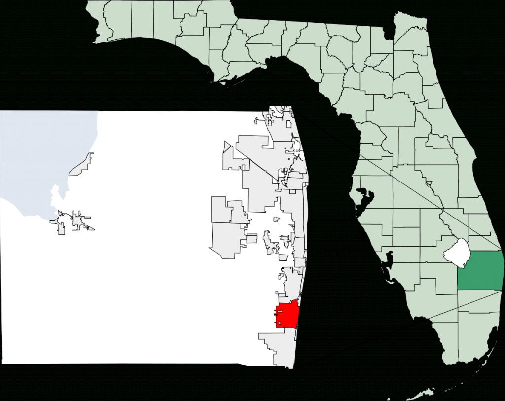 Delray Beach, Florida - Wikipedia - Del Ray Florida Map