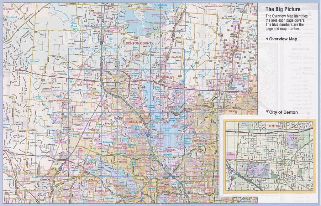 Denton County Street Guidemapsco - Texas Street Map