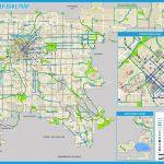 Denver Bike Map   Bike Map Denver (Colorado   Usa)   Denver City Map Printable