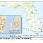 Department Of Health Daily Zika Update | Florida Department Of Health   Zika Virus Florida Map